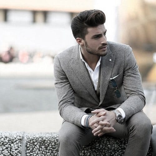 Male Grey Suit Styles
