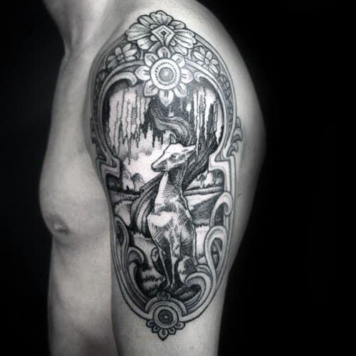 40 Greyhound Tattoo Designs For Men – Dog Ink Ideas forecast dress in spring in 2019