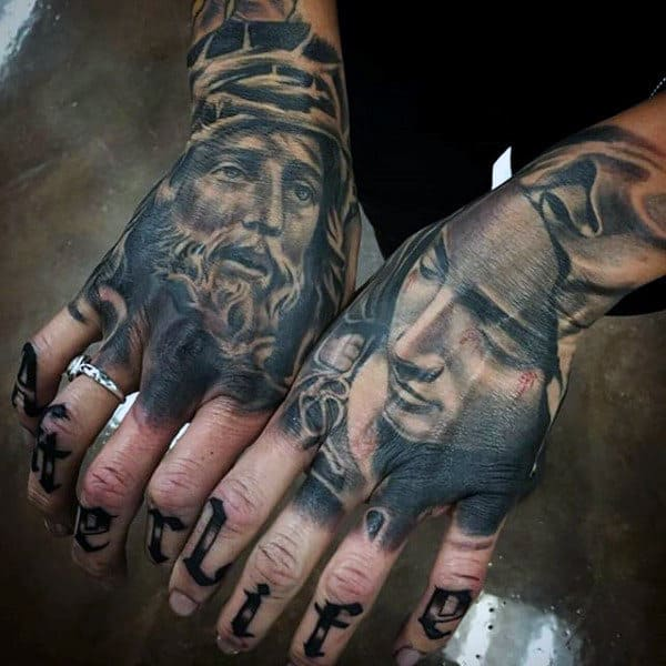 100 Religious Tattoos For Men