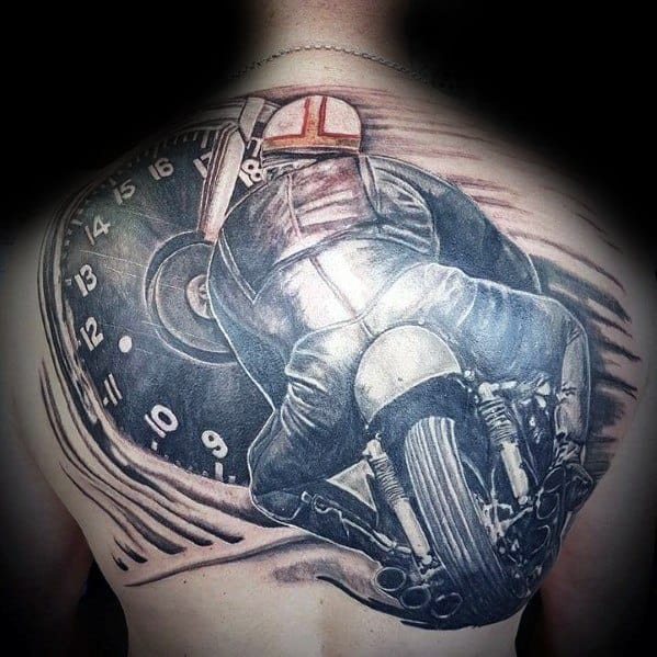 Male Honda Themed Tattoos
