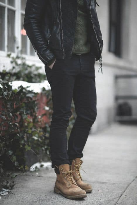 Male How To Wear Boots Outfits Styles