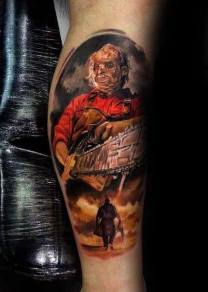 Male Ideas Horror Movie Tattoos