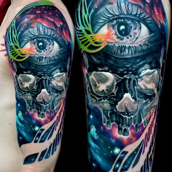 20 Inverted Tattoo Designs For Men - Opposite Ink Ideas