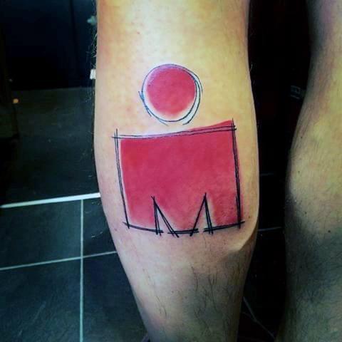 Male Ironman Tattoo Ideas