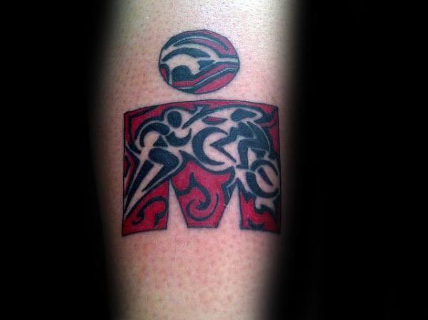 Male Ironman Tattoos