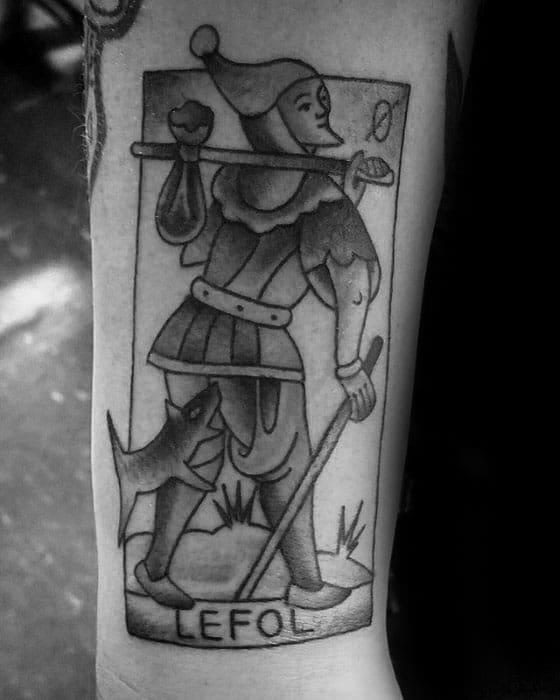 50 Jester Tattoo Designs For Men - Entertainer Ink Ideas