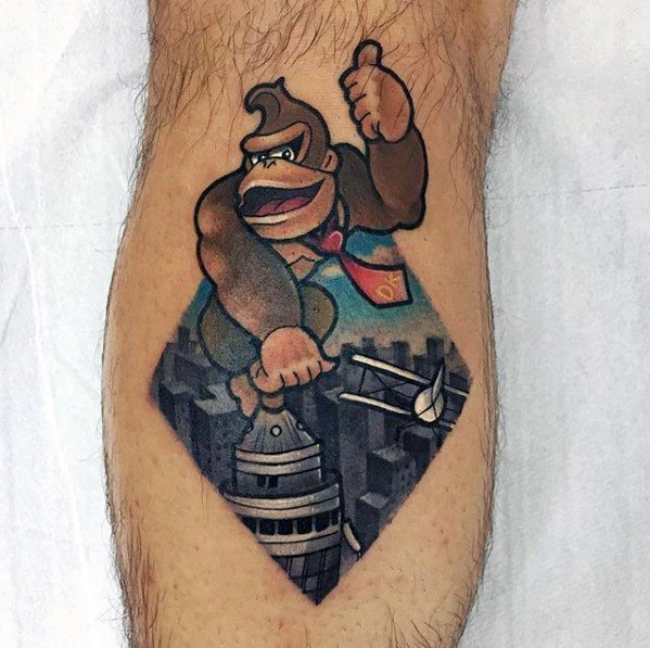 Male King Kong Tattoo Ideas