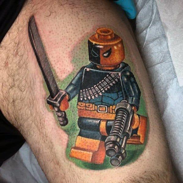 Male Lego Tattoo Ideas