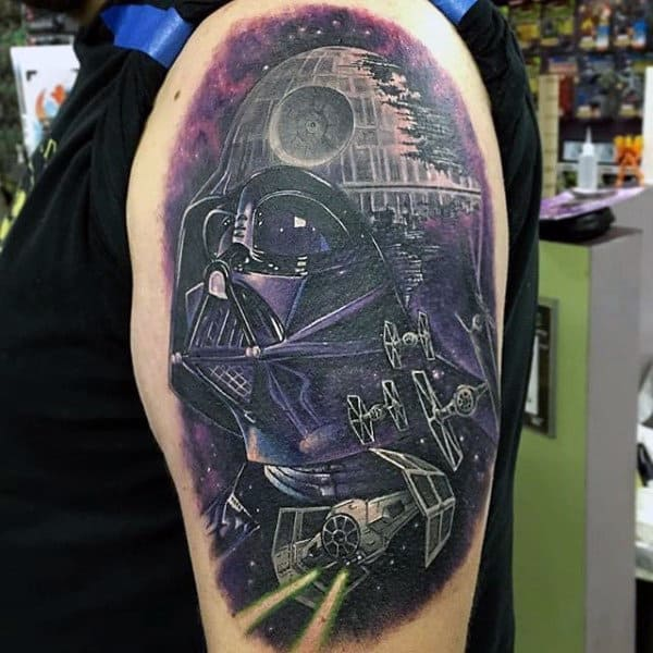 Storm Trooper Tattoo Arm