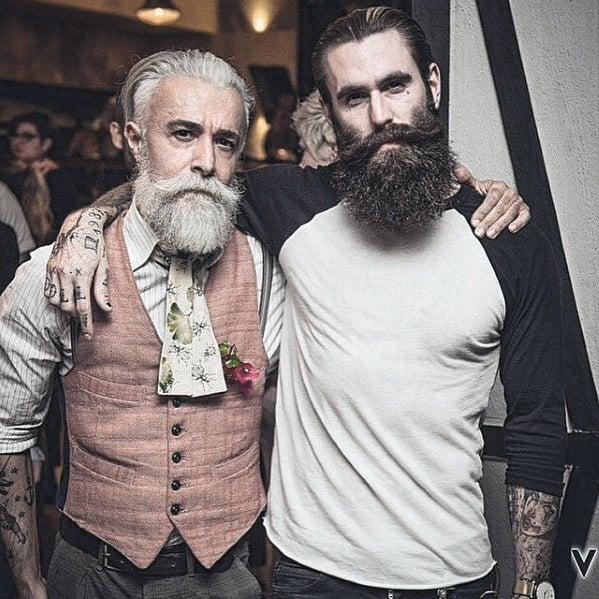 Male Manly Beard Style Ideas