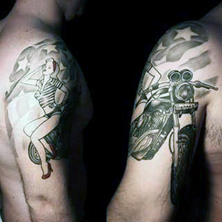 Top 101 Best Military Tattoo Ideas 2020 Inspiration Guide