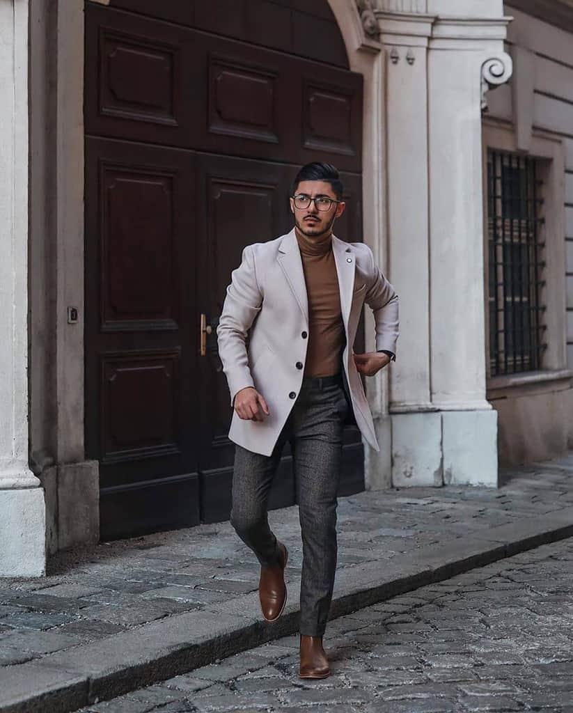 Male Model Dapper Outfit