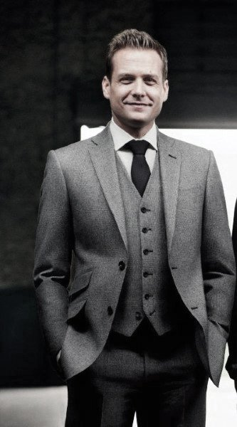Male Modern Grey Suit Style Inspiration