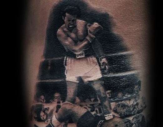 Male Muhammad Ali Tattoo Ideas On Back