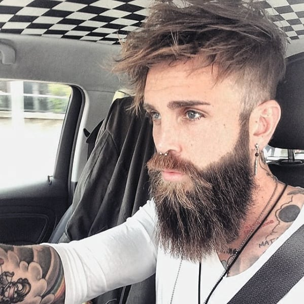 Male Nice Beard Idea Inspiration