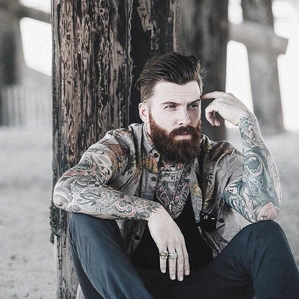 Male Nice Beard Style