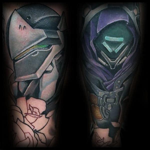Male Overwatch Tattoo Ideas