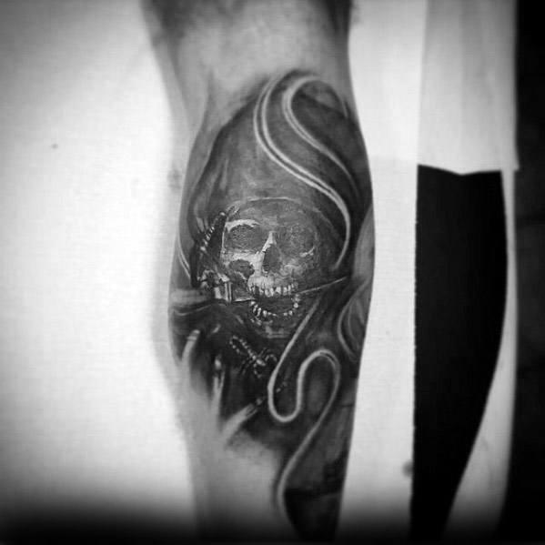 Male Pittsburgh Pirates Tattoo Ideas