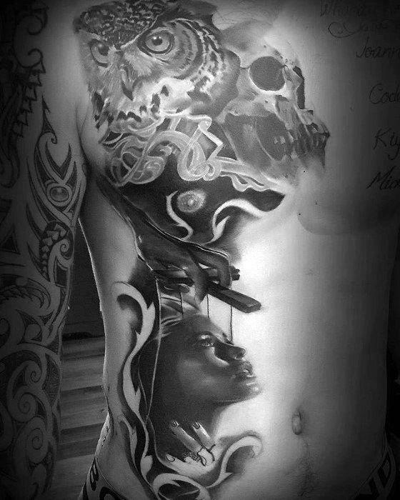 Male Puppet Tattoo Design Inspiration