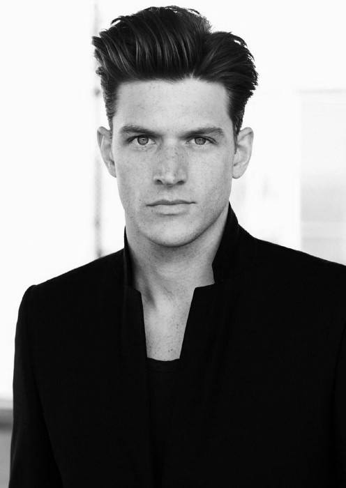 Male Quiff Haircut Look With Volume