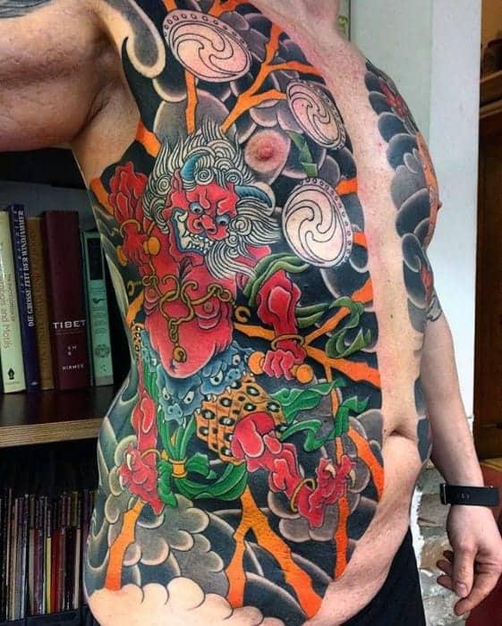 male-raijin-tattoo-ideas