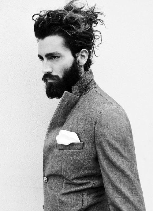 Male Samurai Hairstyle Inspiration