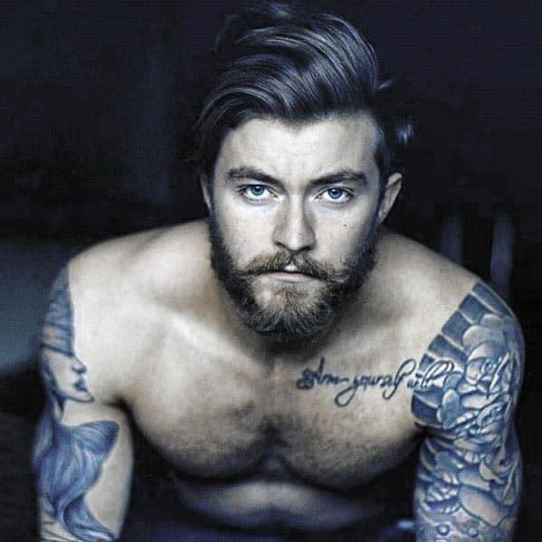 Male Short Beard Style