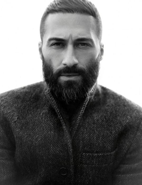 Male Short Hairstyles With Beard Inspiration