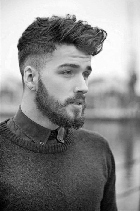 Superb Short Wavy Hair For Men 70 Masculine Haircut Ideas Hairstyles For Women Draintrainus