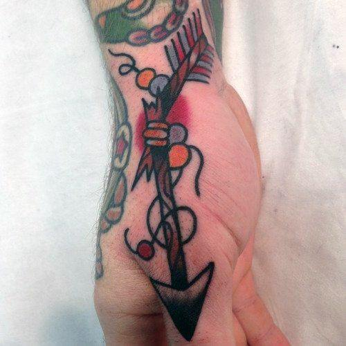 Nautical Symbols And Meanings 30 Broken Arrow Tattoo...