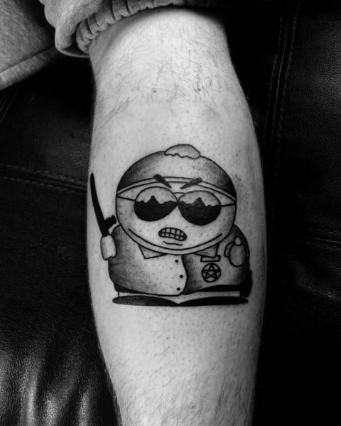 Male South Park Themed Tattoo Inspiration Eric Cartman