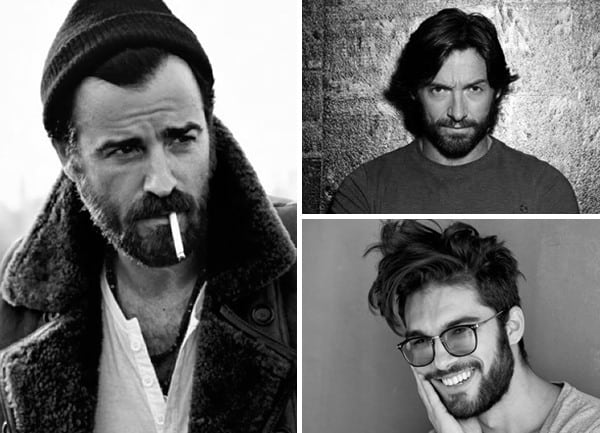 Male Stiletto Beard Style
