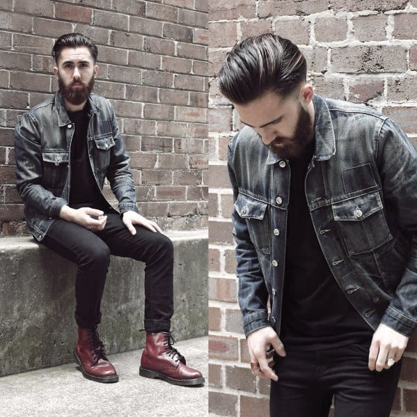 Male Style How To Wear Boots Outfits