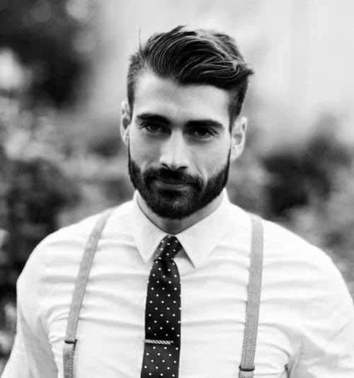 Male Style Inspiration Short Haircut And Beard
