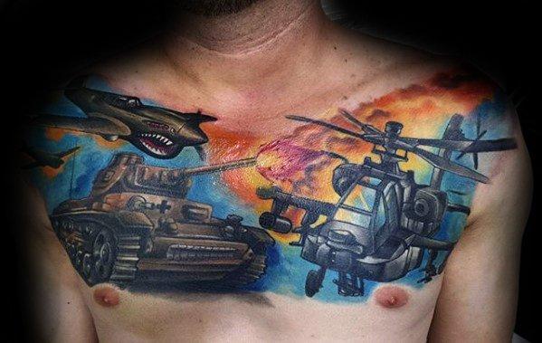 Male Tank Tattoo Ideas
