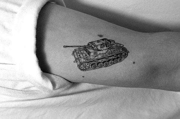 Male Tank Tattoo