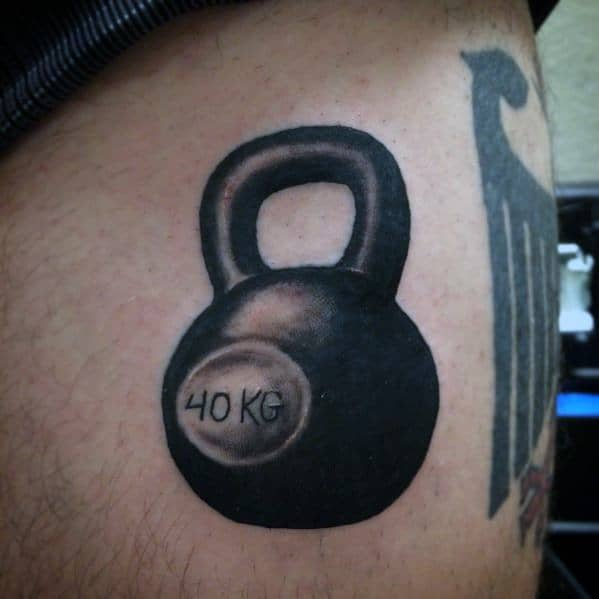 Male Tattoo Ideas Crossfit Themed