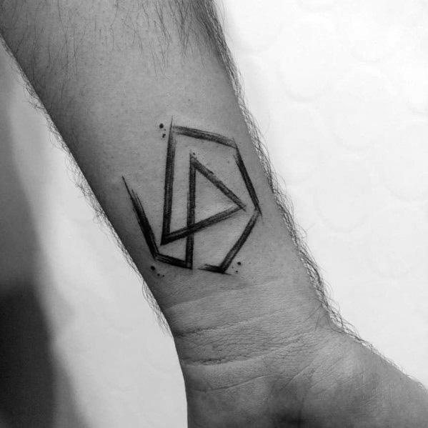 Male Tattoo Ideas Linkin Park Themed