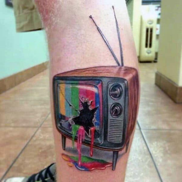 Male Tv Themed Tattoo Inspiration