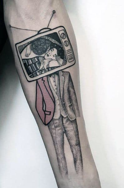 Male Tv Themed Tattoos