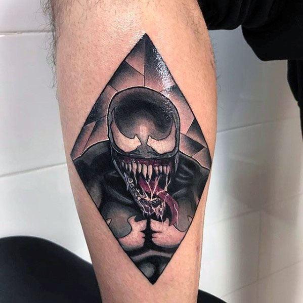 60 venom tattoo designs for men marvel ink ideas