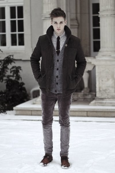 Male Winter Outfits Style