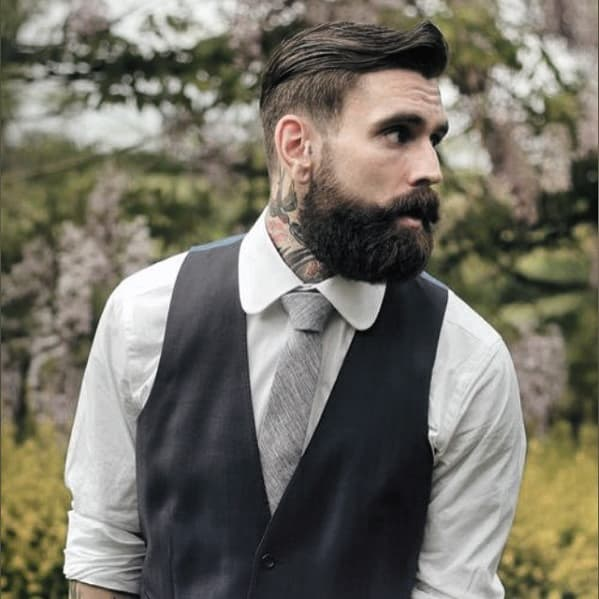 Male With Classy Beard Style