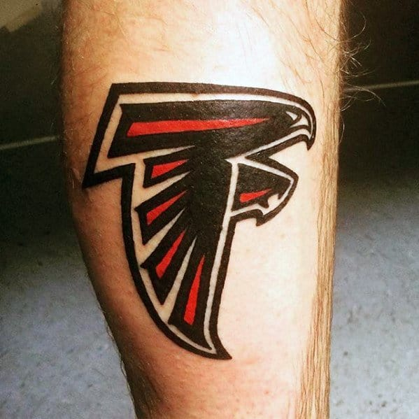 20 atlanta falcons tattoo designs for men football ink ideas ForAtlanta Falcons Tattoo