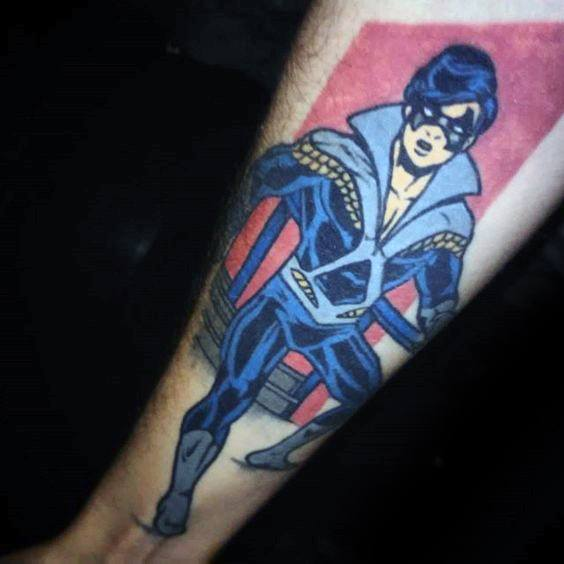 Tattoo Ideas Personal: 20 Nightwing Tattoo Designs For Men