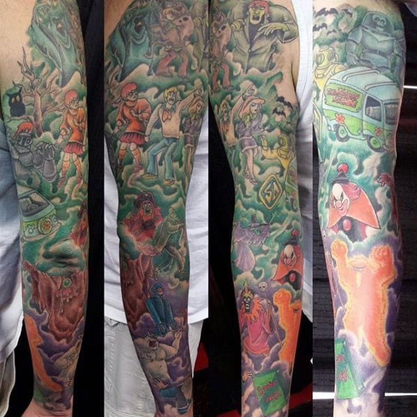 60 scooby doo tattoo designs for men