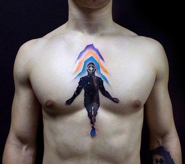 60 trippy tattoos for men psychedelic design ideas. Black Bedroom Furniture Sets. Home Design Ideas
