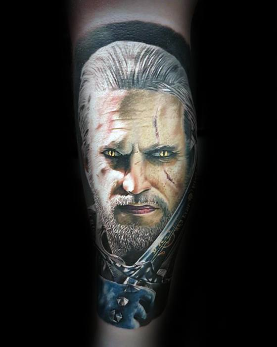 60 Witcher Tattoo Designs For Men