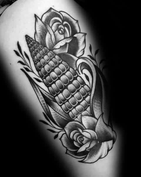 50 Mais Tattoo Ideen für Männer - Mais Designs