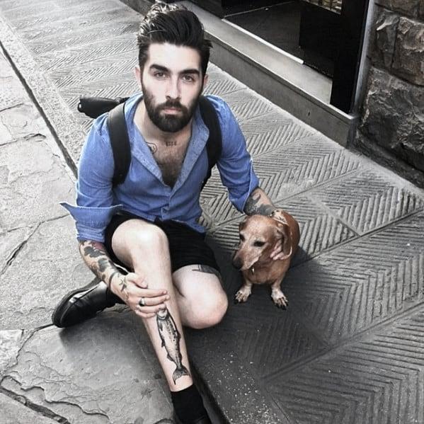 Male With Medium Beard Style